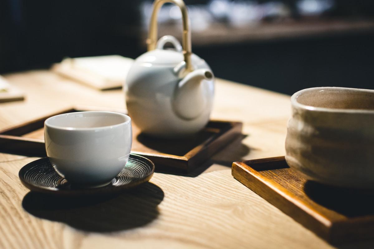 Čajová súprava na prípravu anglického čaju