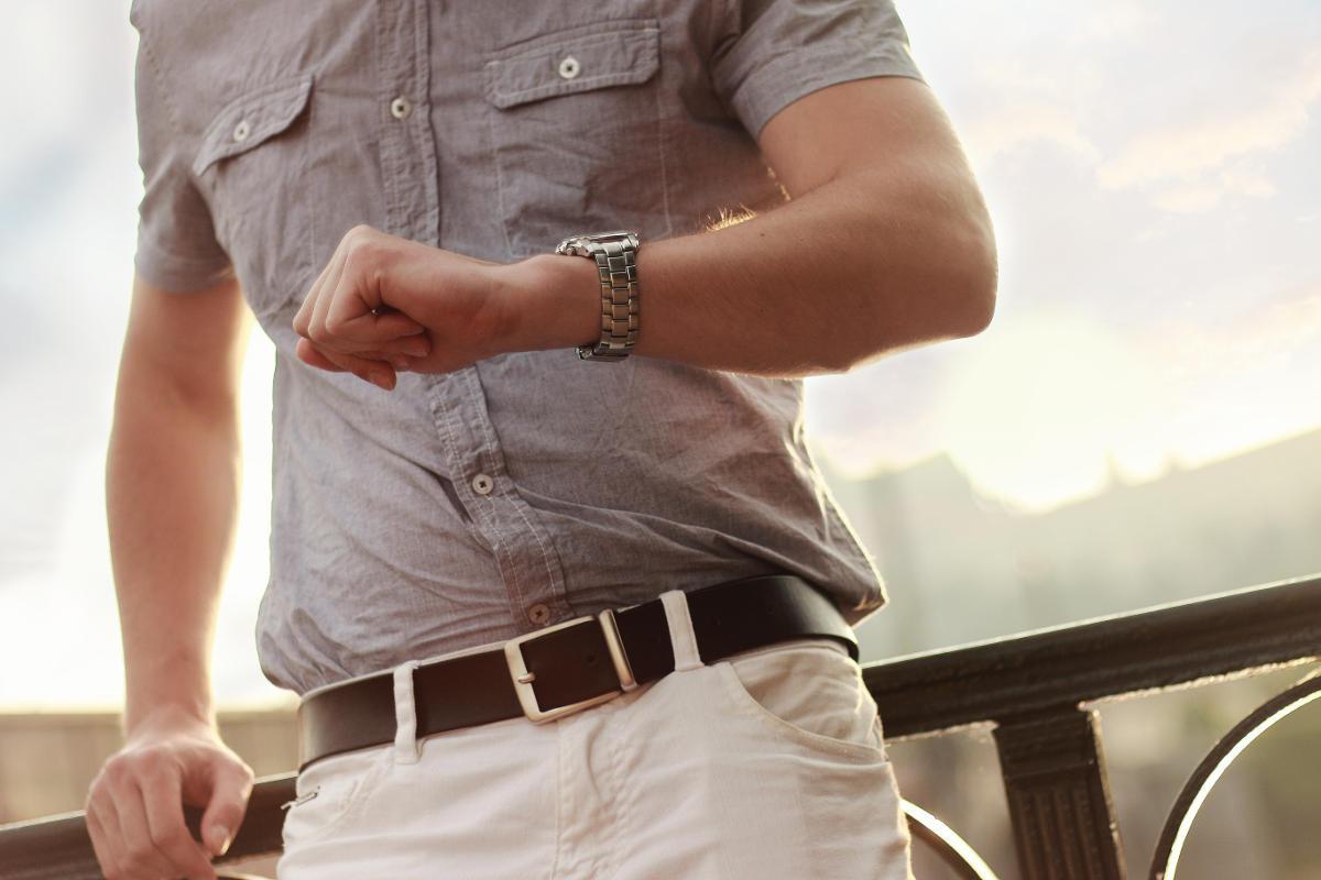 Doplnky gentlemana - hodinky