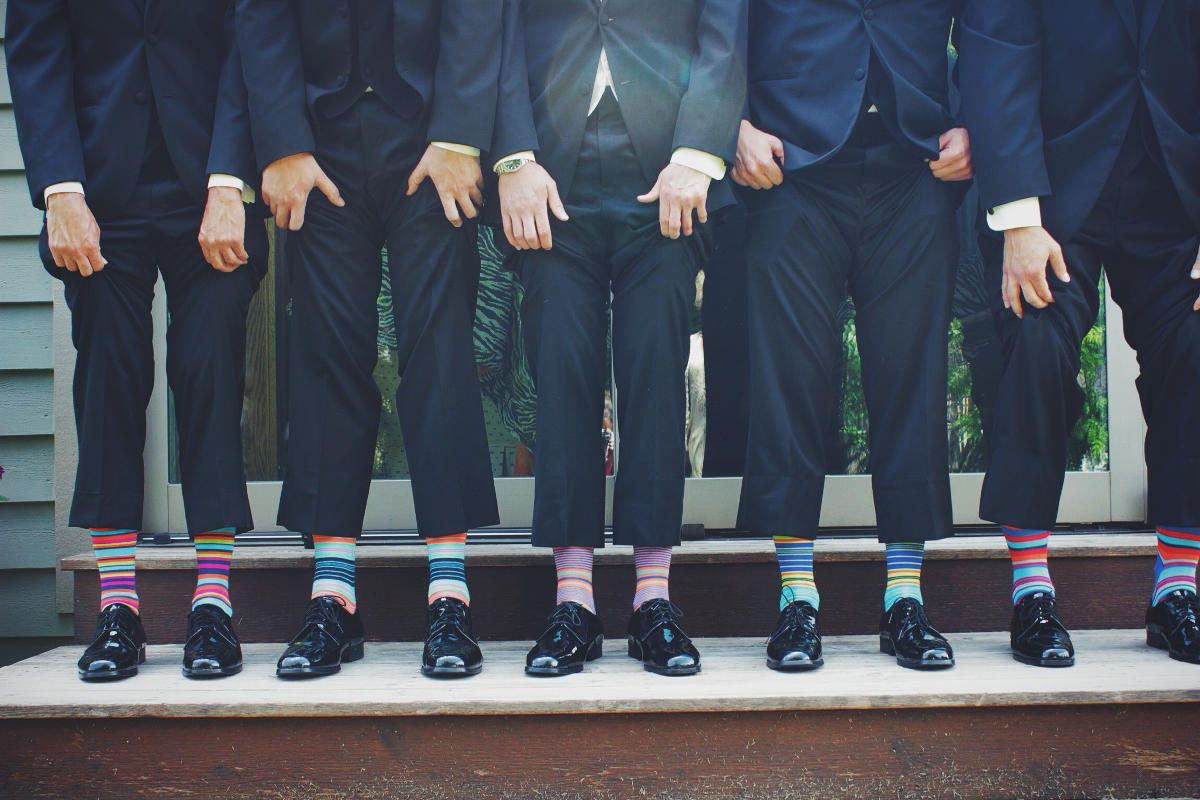 Doplnky gentlemana - ponožky