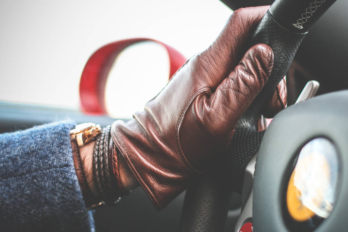 Doplnky gentlemana - rukavice