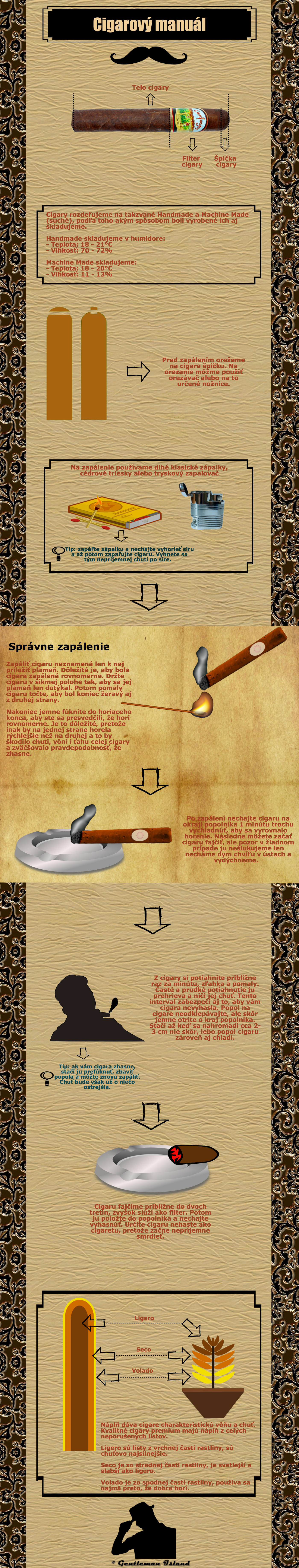Infografika o cigarách