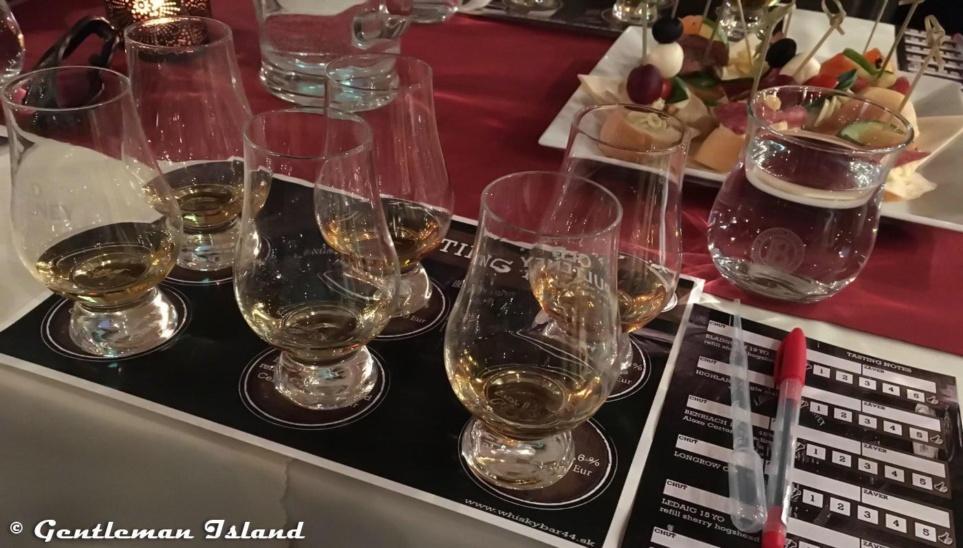 Degustačný set vo Whisky Bare 44