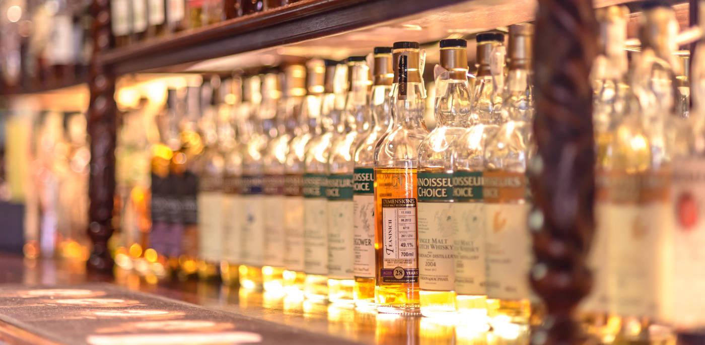 """""""Voda života"""" vo Whisky Bare 44"""