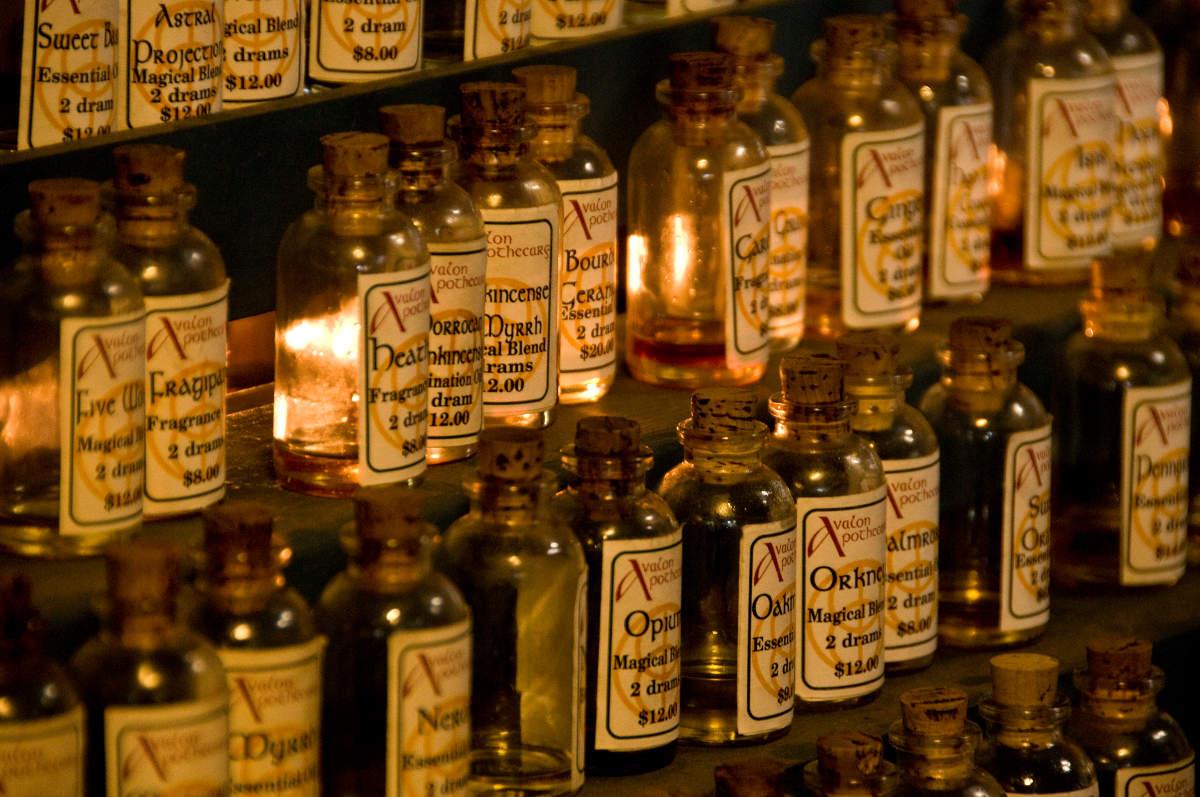 Fľaštičky s esenciami