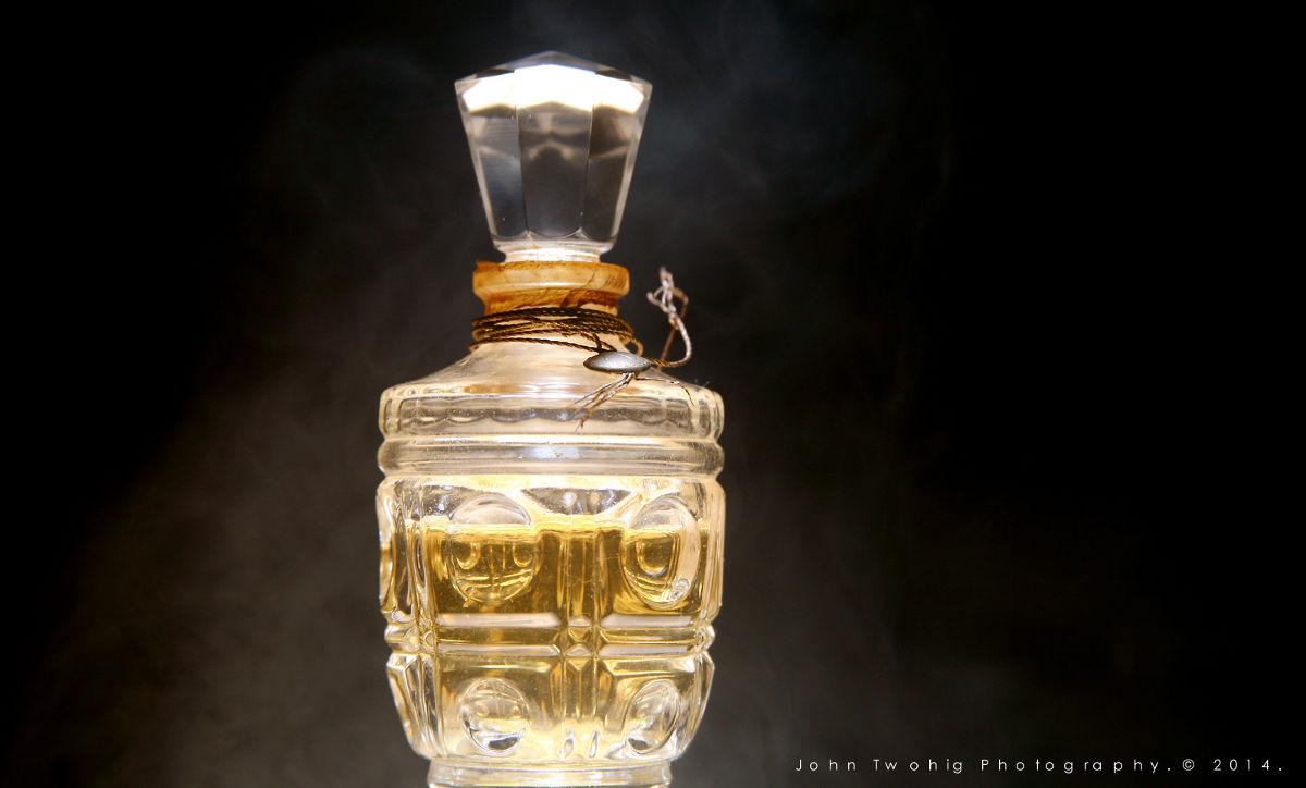 Flakón s parfumom
