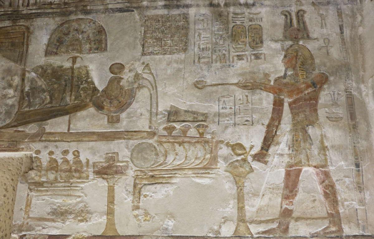 Egyptské vonné kadidlo