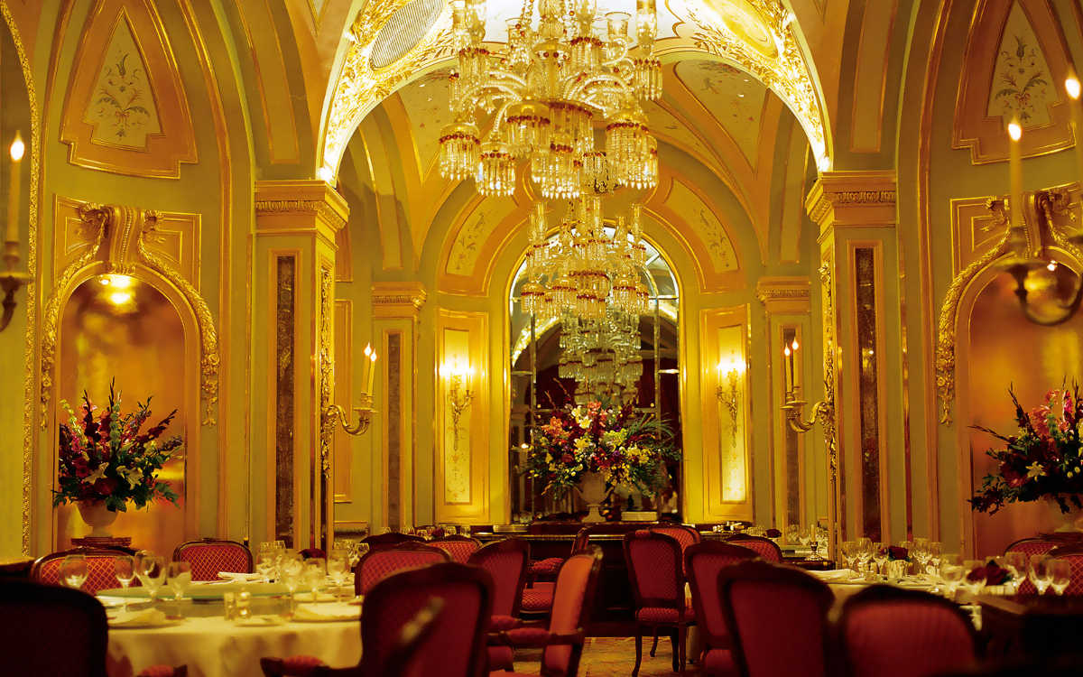 Čajová miestnosť v hoteli Ritz