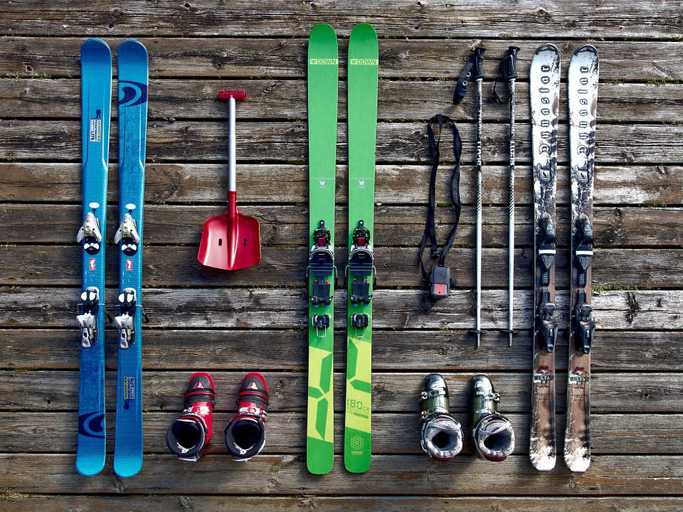 Mužská lyžiarska výstroj