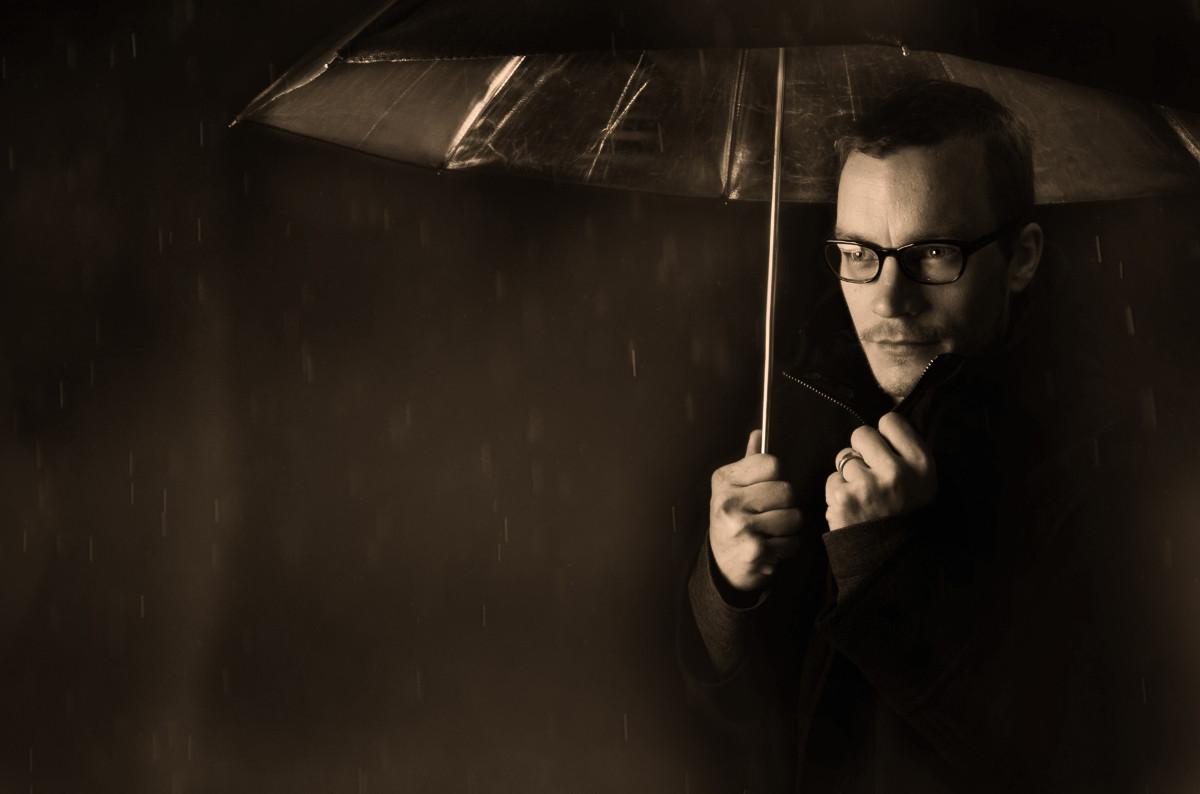 Doplnky gentlemana - dáždnik