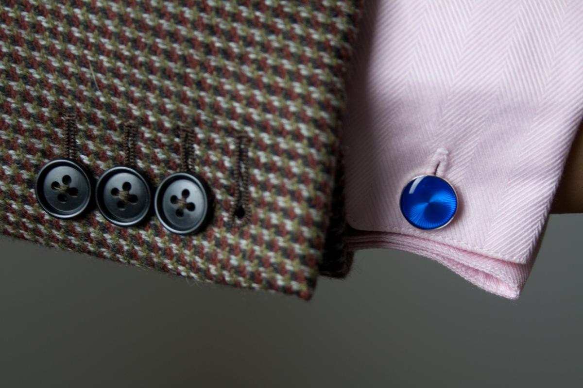 Doplnky gentlemana - manžetové gombíky