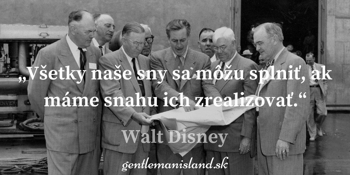 Citát Walt Disney