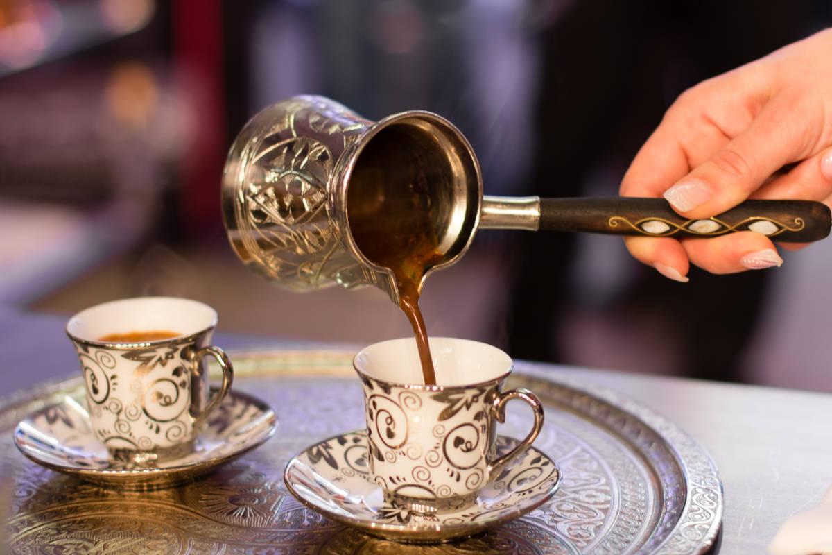 Džezva na prípravu tureckej kávy